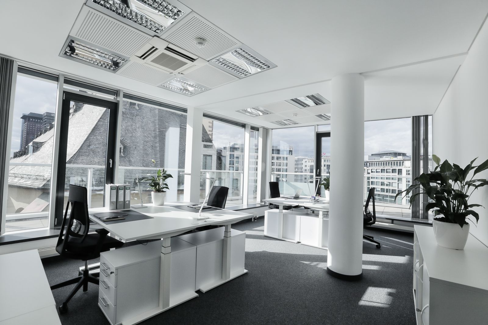 Business Center in Frankfurt