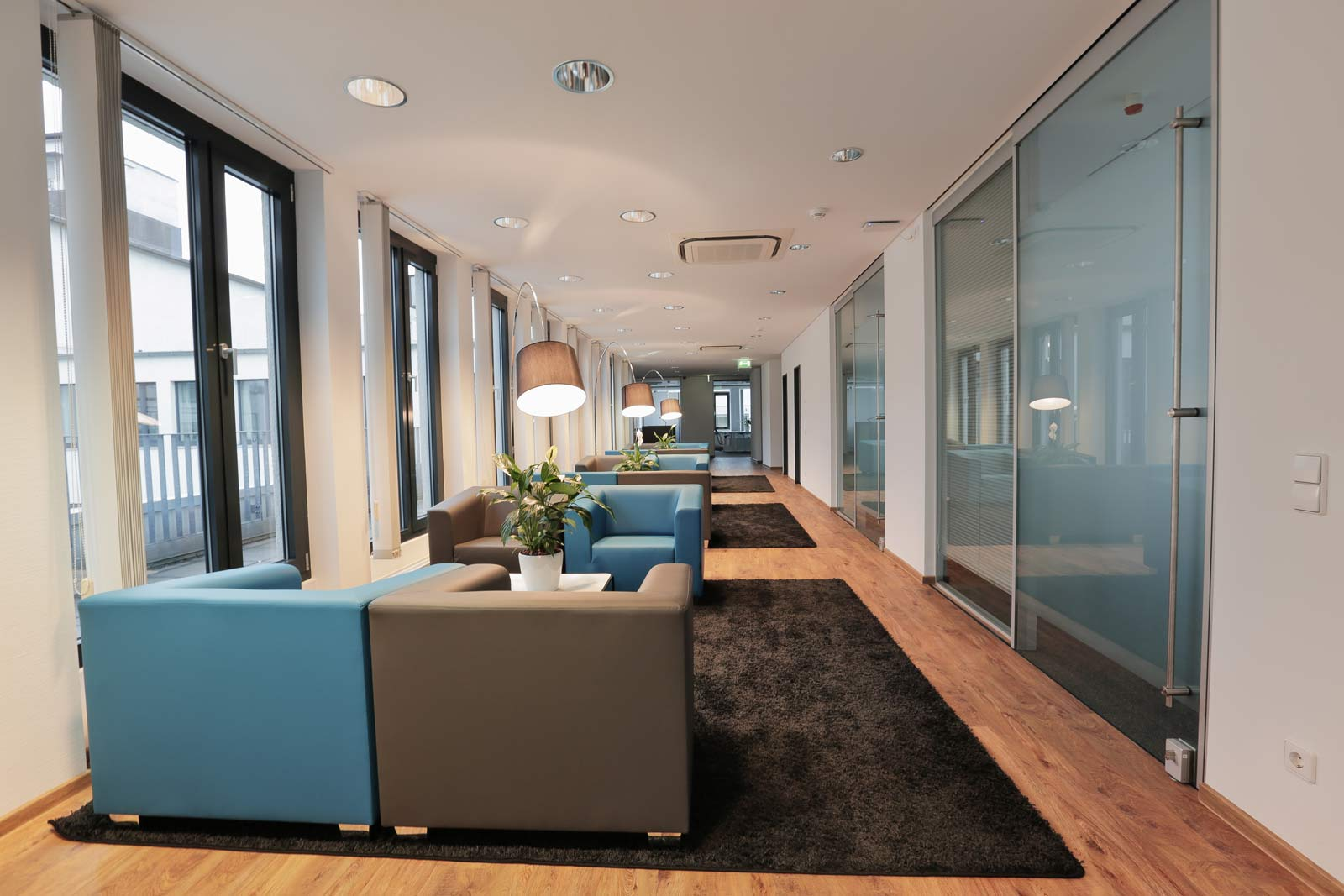 Frankfurt Hauptwache Coworking Lounge
